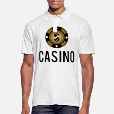 Blackjack Casino Poker Chip Cool Gift Idea Card Game - Men's Polo Shirt