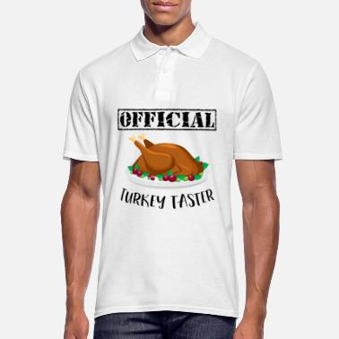 Hungry Thanksgiving Day Turkey Gift for Fall Holiday - Men's Polo Shirt