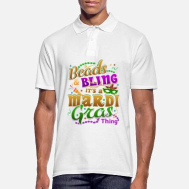 Lys Mardi Gras Parade 2019 Perler Party Shirt Gift - Poloskjorte for menn