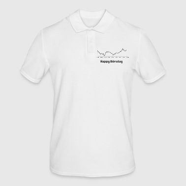 Happy Börsday Happy Birthday - Männer Poloshirt
