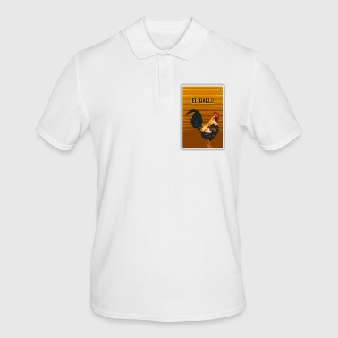 El Gallo - The Cock Fun Gift Shirts - Men's Polo Shirt