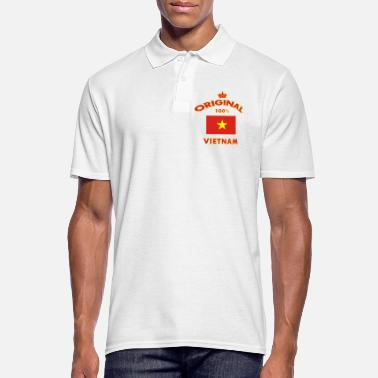 Ho Chi Minh City Vietnam 100% Original / Hanoi Flag Gift - Men's Polo Shirt