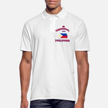 Philippines Philippines Original 100% / Gift Flag - Men's Polo Shirt