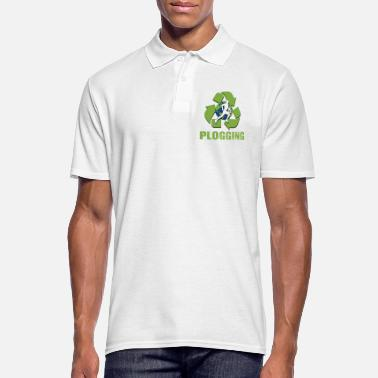 Plogger Green Ploggering - Men's Polo Shirt