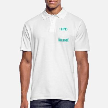 Balance Life is all about balance - Men's Polo Shirt
