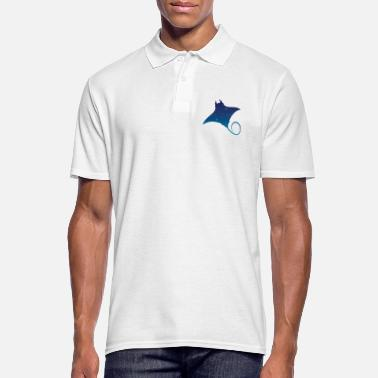 Ufo Space flying squirrel - Men's Polo Shirt