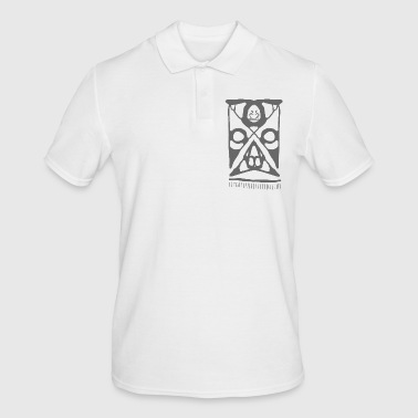 Maori face - Men's Polo Shirt