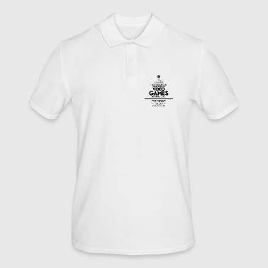 VIDEO GAMES - Männer Poloshirt