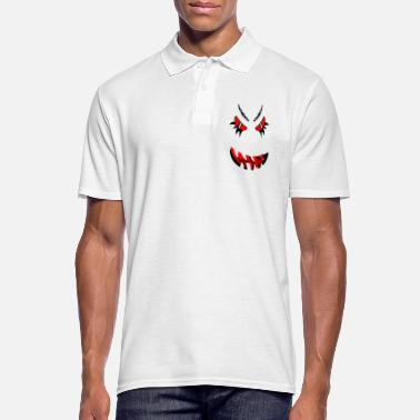 Nasty Tribal face devil evil - Men's Polo Shirt