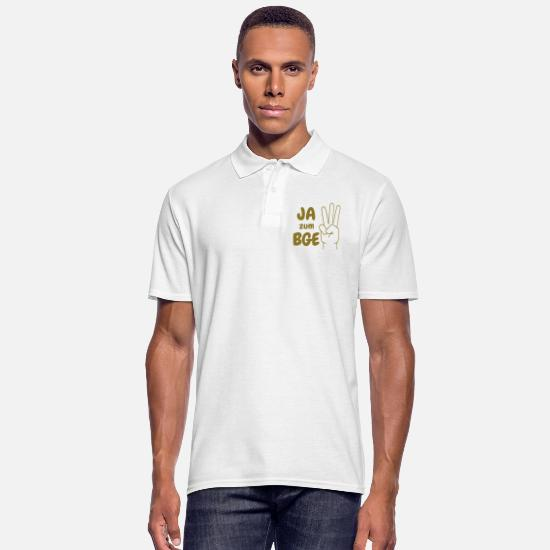 Society Polo Shirts - Yes to the BGE! - Men's Polo Shirt white