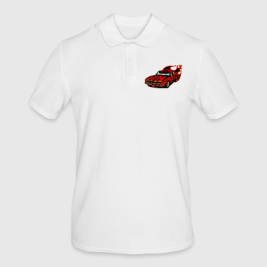 Race Car car vehicle racing car - Men's Polo Shirt