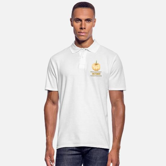 Forest Polo Shirts - october - Men's Polo Shirt white