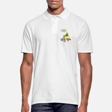 Snail Napping Squad - Sloth, Turtle & Snail - Men's Polo Shirt