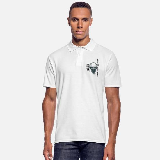 Hambourg Polos - Style de Hambourg - Polo Homme blanc