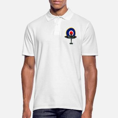 Royal Air Force SPIT COCARDE / 1803 - Men's Polo Shirt