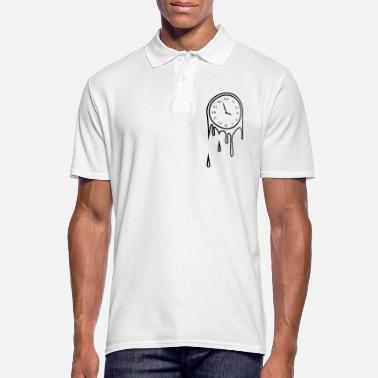 Clock dripping clock - Mannen poloshirt