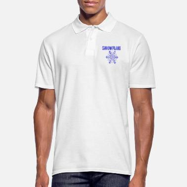 Snowflake Snowflake snowflake snow - Men's Polo Shirt