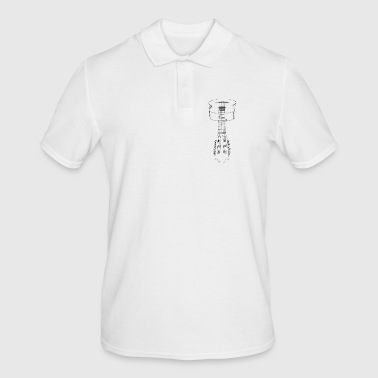 guitar - Men's Polo Shirt