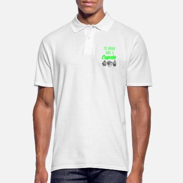 Baker I would rather have a cupcake - Men's Polo Shirt