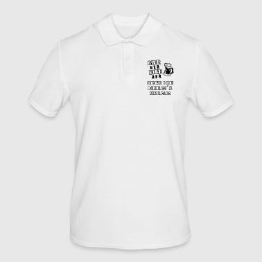 Beer or I'll take it crooked - Men's Polo Shirt