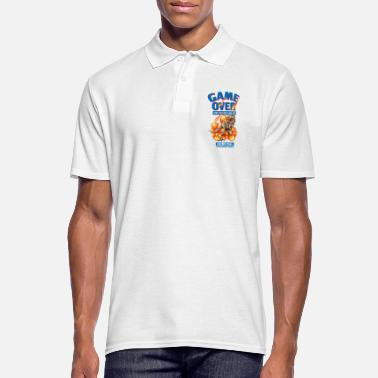 Game Over Game over - Mannen poloshirt