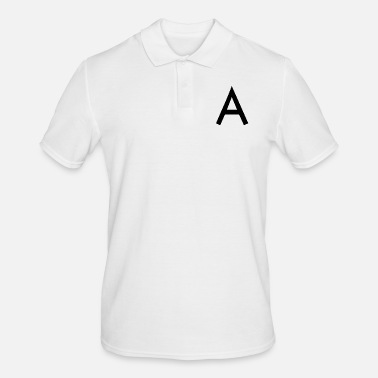 Initial The A initial letter - Men's Polo Shirt