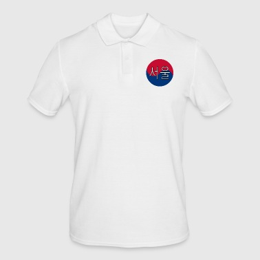 Korean Seoul (Korean) - Men's Polo Shirt