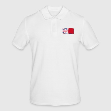 British Bahrain Half Bahrain Half UK Flag - Men's Polo Shirt