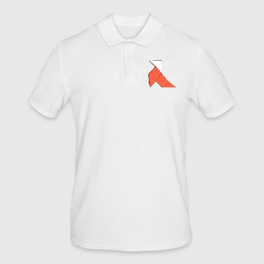 origami paper plane paper airplane1 - Men's Polo Shirt