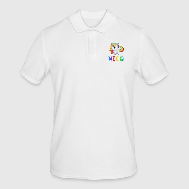 Unicorn Nico - Men's Polo Shirt
