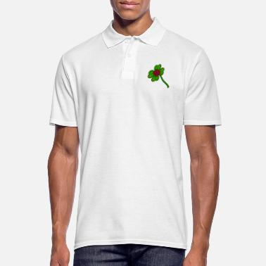 Four-leaf Clover Four-leaf clover - Men's Polo Shirt
