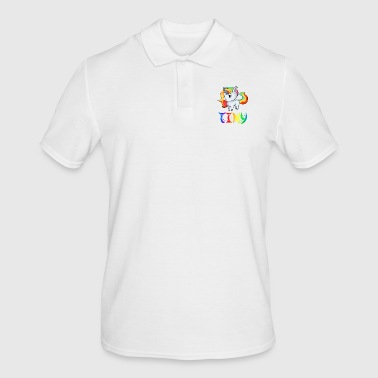 Tiny Unicorn Tiny - Men's Polo Shirt