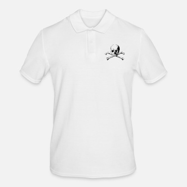 Skull And Bones Skull with crossed bones - Men's Polo Shirt