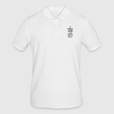 Giving bagpipes to the scots as a joke - Men's Polo Shirt