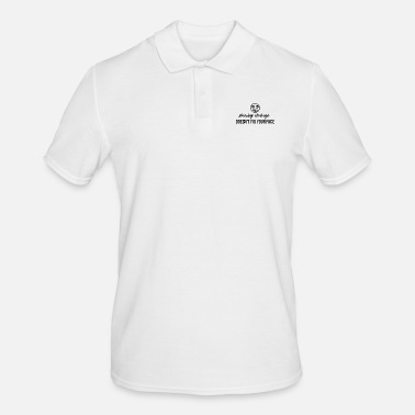 Cleavage Showing cleavage - Men's Polo Shirt