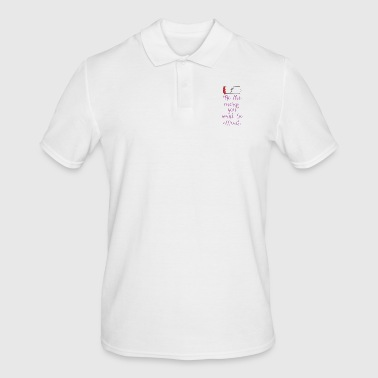 Attracting energy - Men's Polo Shirt