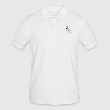 flamants roses minimum - Polo Homme