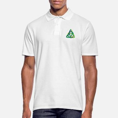 Knotted Celtic Knot Celtic Knot - Men's Polo Shirt