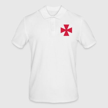knight's cross - Men's Polo Shirt