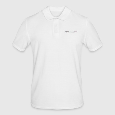 New York City - Mannen poloshirt
