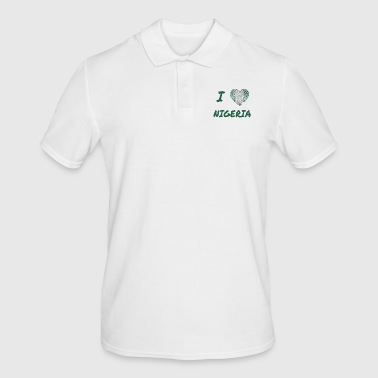 I love Nigeria - Men's Polo Shirt