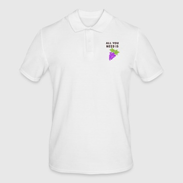 All You Need Is Grapes - Men's Polo Shirt