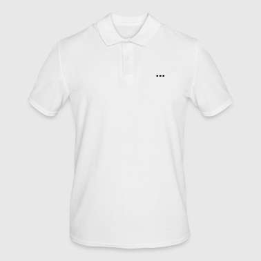 Lettering ... - Men's Polo Shirt