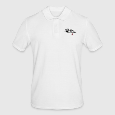 Quitting is not an option - Men's Polo Shirt