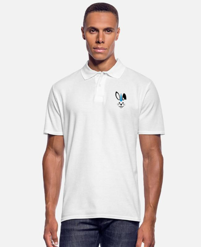 Friendship Polo Shirts - Rabicorn Male - Men's Polo Shirt white