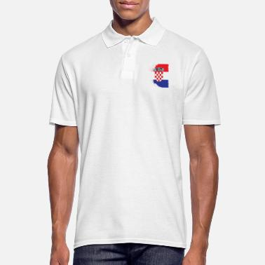 Population Croatie grb - Polo Homme