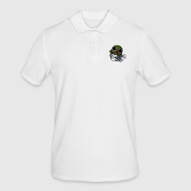 Gohst the warrior cried - Men's Polo Shirt
