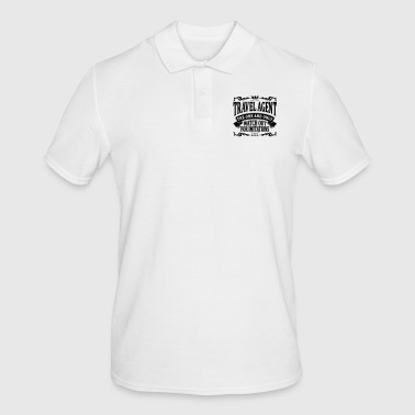 travel agent the one and only - Men's Polo Shirt