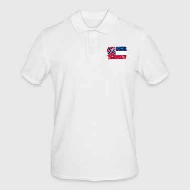 Mississippi vintage flag - Men's Polo Shirt