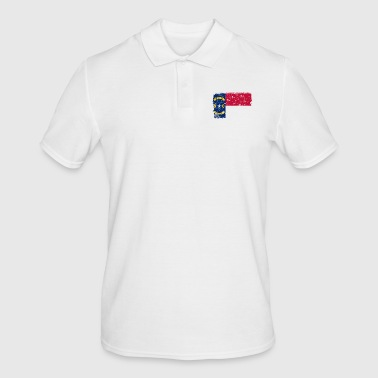 Raleigh North Carolina vintage flag - Men's Polo Shirt